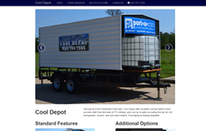 Cool Depot's homepage